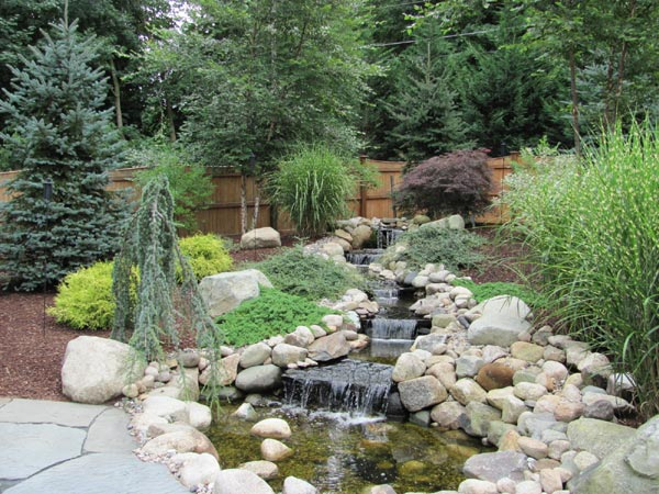 Evergreen landscape in duxbury ma design and build landscape and irrigation services for - Evergreen landscaping ideas ...